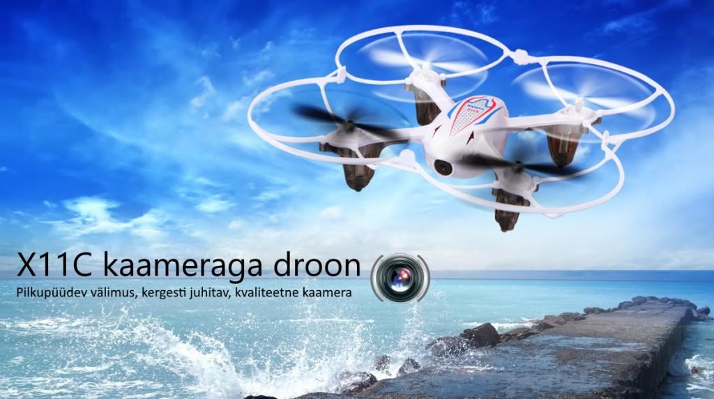 Syma X11C kaameraga droon