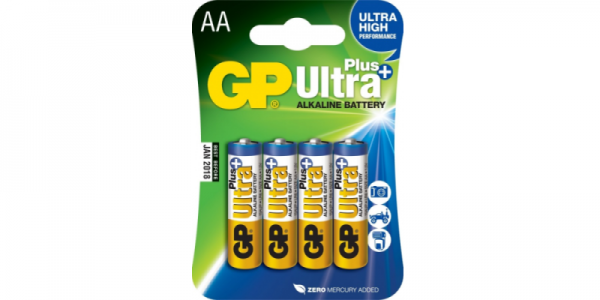 GP Ultra Plus patareid (AA)