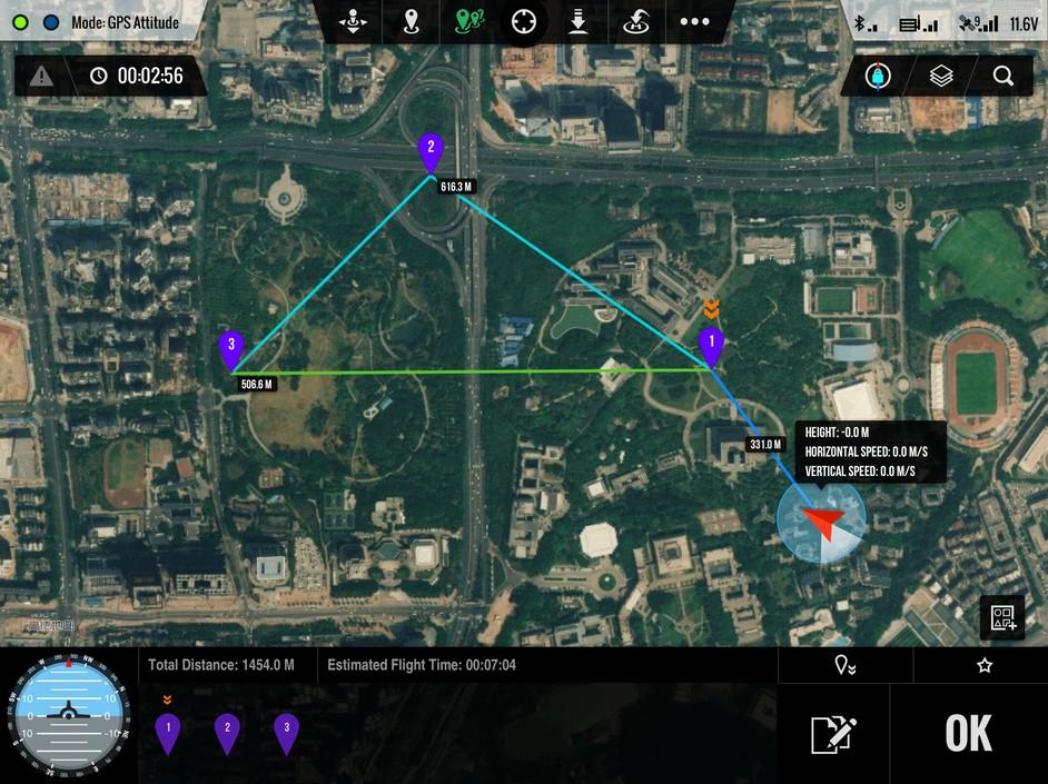 DJI Phantom 2 autonoomne kohaletoimetamine