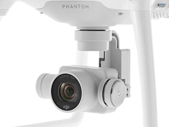 DJI Phantom 4 kaamera
