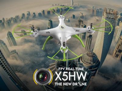 Syma X5HW otsepilti edastav ja kõrgust hoidev droon